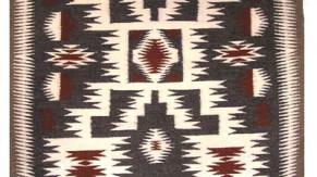 Storm Navajo Rug