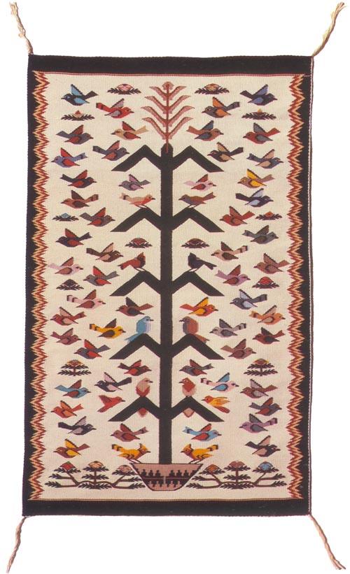 Bird Navajo Rugs
