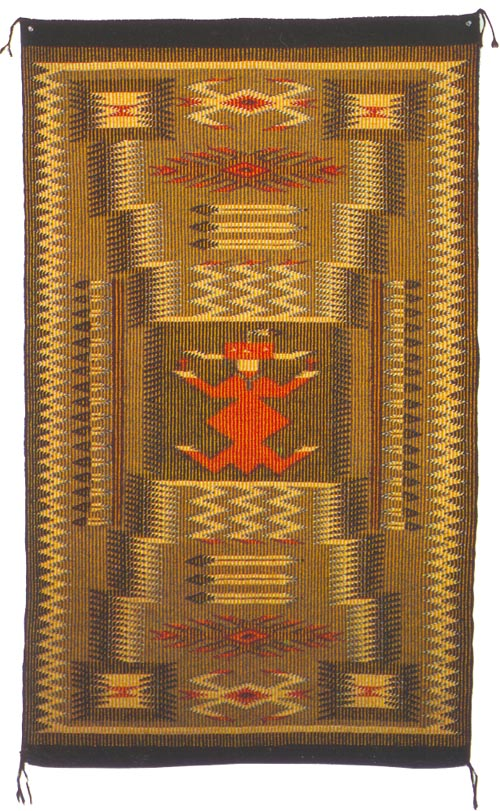 Raised Outline Navajo Rugs