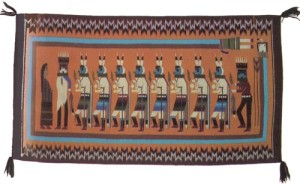 Yeibichai Navajo Rugs